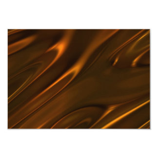 Hot Melted Liquid Chocolate Textured Card