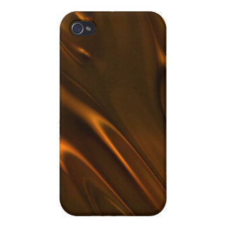 Hot Melted Liquid Chocolate Textured Covers For iPhone 4