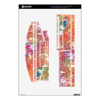 Hot Mess Paint Splats PS3 Skin