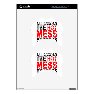 Hot Mess T-Shirts.png Xbox 360 Controller Decal