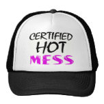 Hot Mess Trucker Hats