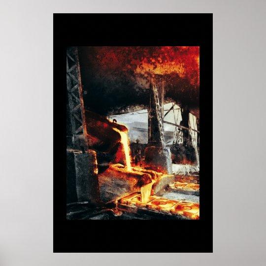 Hot Metal CD Factory Poster