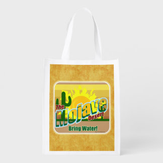 Hot Mojave Desert Saying Grocery Bags