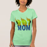 Hot Mom and Flames Shirts