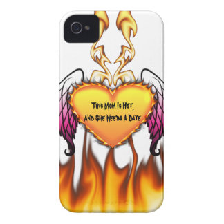 Hot Mom Needs A Date iPhone 4 Case-Mate Case