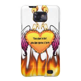 Hot Mom Needs A Date Samsung Galaxy SII Covers