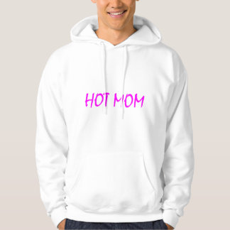 Hot Mom (Pink) Hooded Pullover