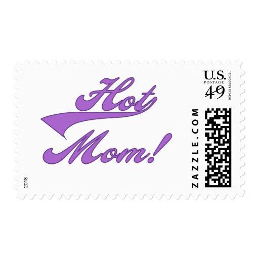 Hot Mom Stamp
