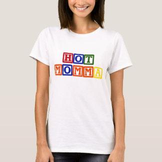 Hot Momma Baby Blocks T-Shirt