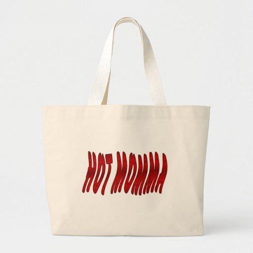 hot momma canvas bag