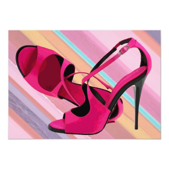 Hot Momma's Hot Pink Pumps Card