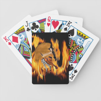 Hot Moon Night playing card Bicycle Playing Cards