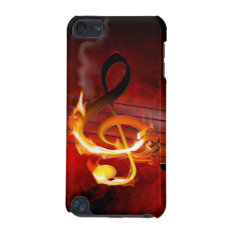 Hot Music Notes Ipod Touch 5g Case at Zazzle