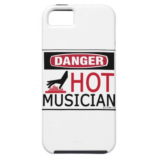Hot Musician iPhone 5 Cover