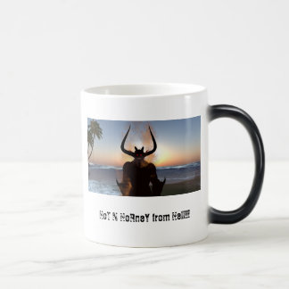 Hot N Horney 11 Oz Magic Heat Color-Changing Coffee Mug