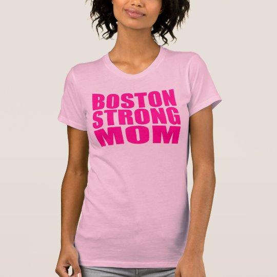 Hot Neon Pink Boston Strong T-shirt