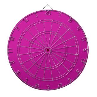 Hot Neon Pink Dart Board