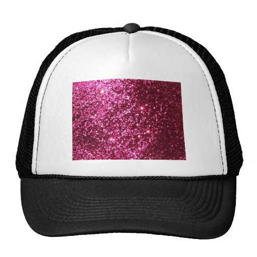 HOT NEON PINK SPARKLE GLITTER BACKGROUND PARTY FUN HATS