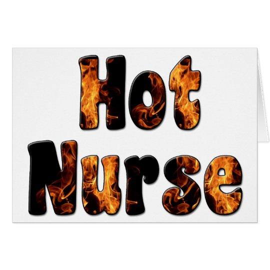 Hot Nurse Card