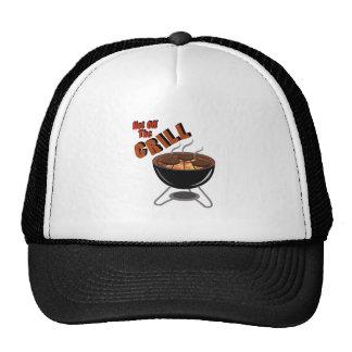 Hot Off Grill Trucker Hat
