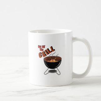 Hot Off Grill Classic White Coffee Mug