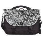 Hot Old School Zebra Bag Fashion Trend Laptop Messenger Bag
