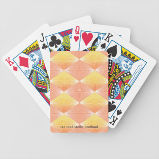 Hot Ombre Diamond Bicycle Playing Cards