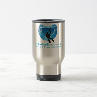 Hot or Cold Steel PUSSI Travel Mug