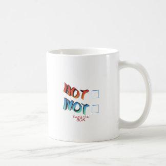 hot or not coffee mug