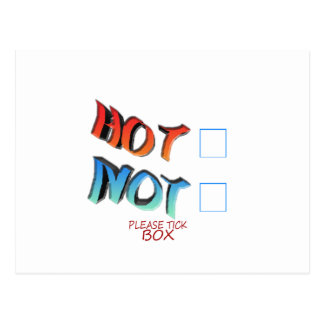 hot or not postcard
