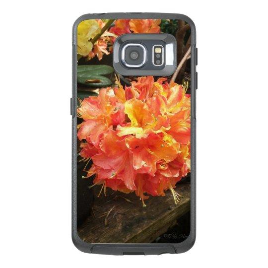 4eb53d947b5f0 Hot Orange Bloom Phone Case