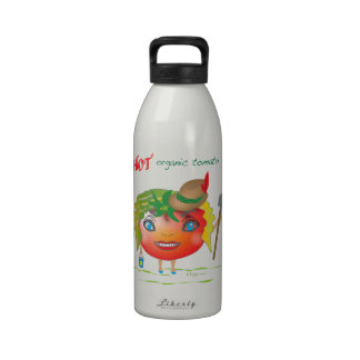 Hot Organic Tomato Water Bottle