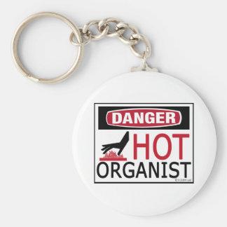 Hot Organist Keychain