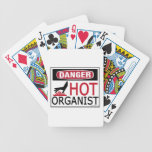 Hot Organist Poker Cards