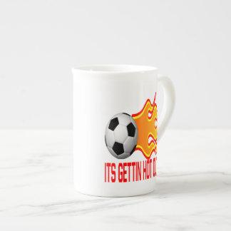 Hot Out Here Bone China Mugs