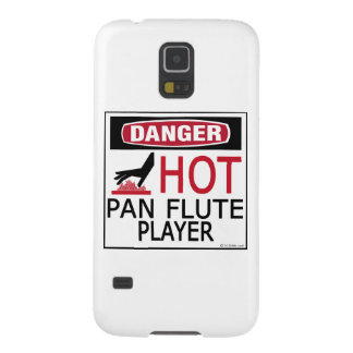 Hot Pan Flute Player Galaxy S5 Case
