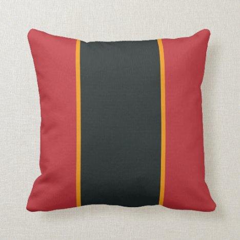 Hot Peninsula Throw Pillow