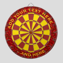Hot Pepper Background Dart Board