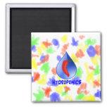 Hot pepper blu drop blue text hydroponicse magnets