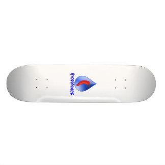 Hot Pepper Blue Drop Blue Text Hydroponics Skateboards