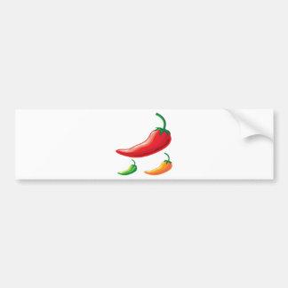 Hot Pepper Bumper Sticker