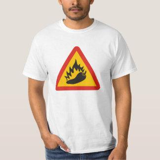 Hot pepper danger sign T-Shirt