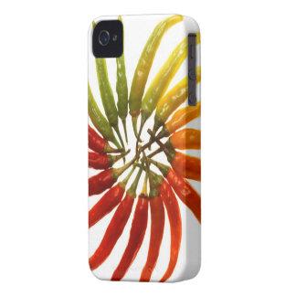 Hot Pepper Rainbow Case-Mate iPhone 4 Case