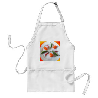 Hot Peppers 3 Adult Apron