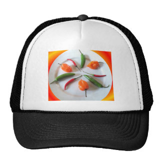 Hot Peppers 3 Trucker Hat