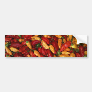 Hot Peppers Bumper Sticker