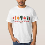 Hot Peppers - Choose Your Weapon T-Shirt