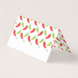 Hot Peppers Fiesta Birthday Place Card