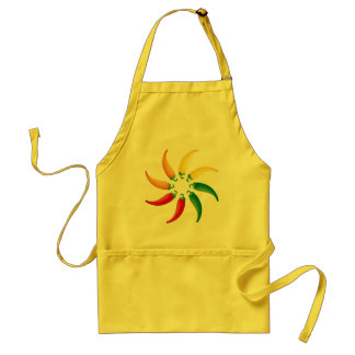 Hot Peppers Kitchen Apron Gift for Chef
