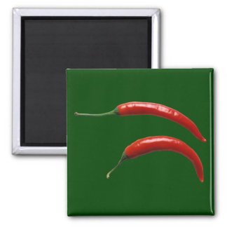 Hot Peppers Magnet